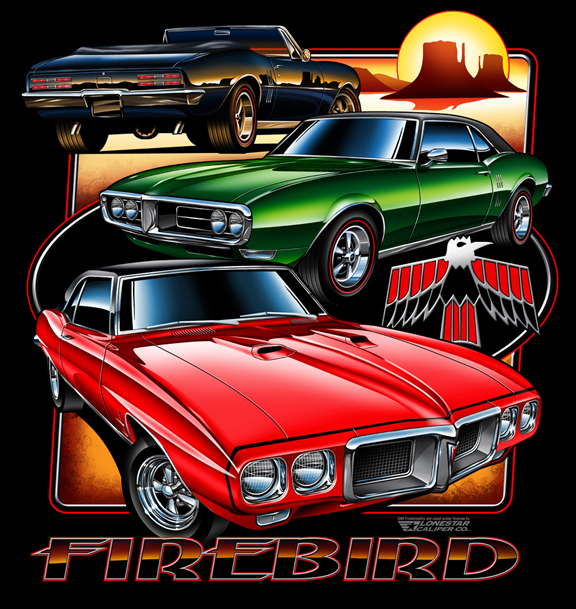 Firebird T-Shirt Art